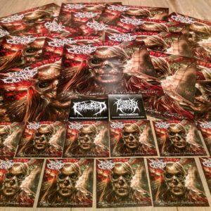 CD art stickers and posters
