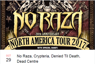 No Raza Oct 29th